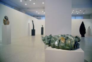 Africké sochy v Národní galerii v Praze
