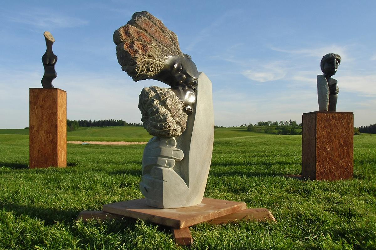 Kamenné sochy na prodej v Grund Resort