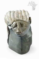 Sculpture of the head