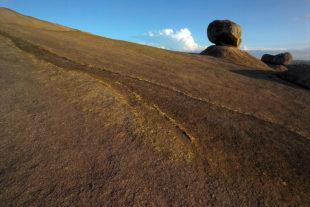 Dongoshawa - skalnatá krajina nedaleko Harare