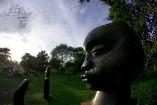 Výstava soch v Botanické zahradě v Praze - Troji