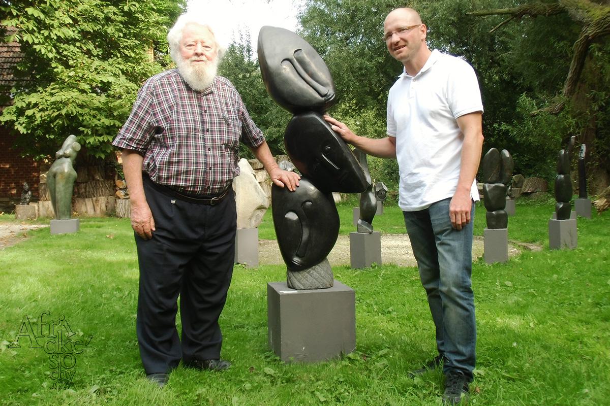 Tom Blomefield a Ondřej Homolka v roce 2013