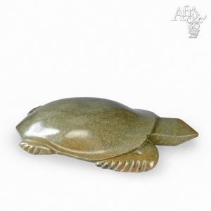 Kamenná socha na prodej do interiéru, bytu či zahrady - socha želvy