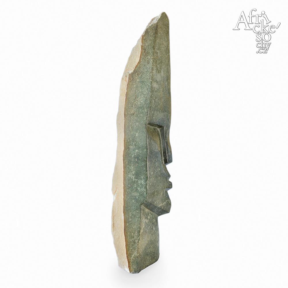 Victor Fire: socha Hlava náčelníka