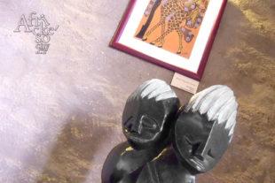 Africké sochy v Brušperku
