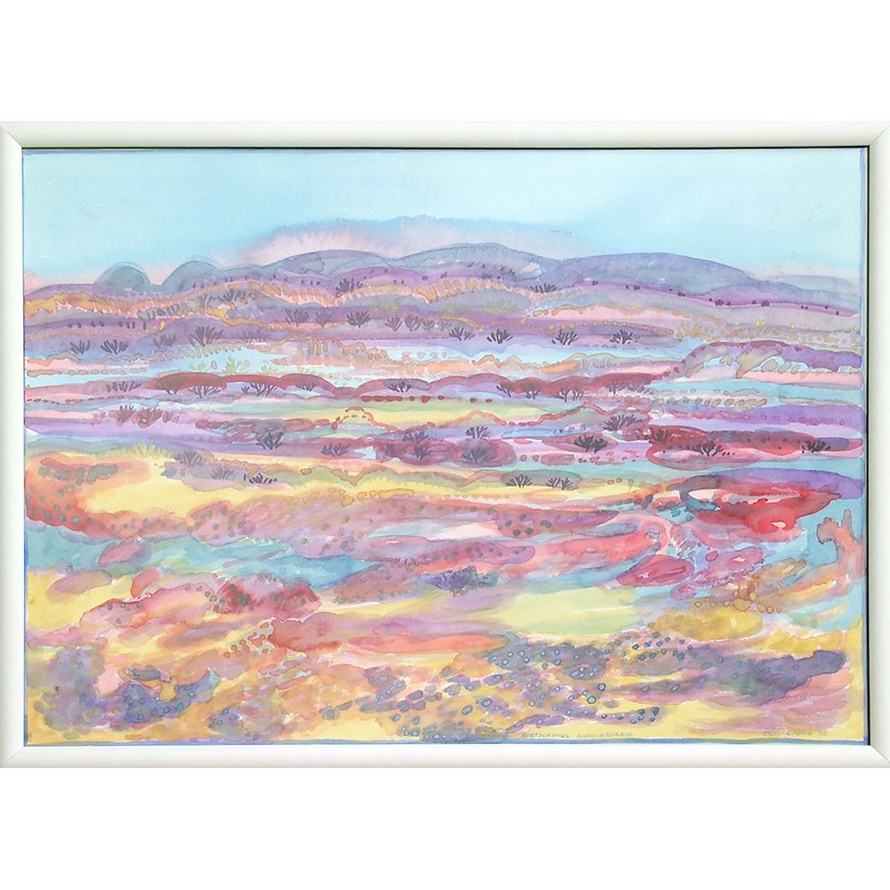 Painting from Jeanne Kotzé: Soetdorings Acaciastasie