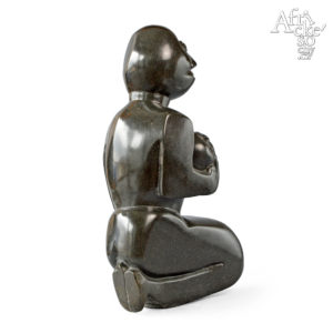 Kamenné sochy na prodej do interiéru, bytu či zahrady - socha matky s dítětem