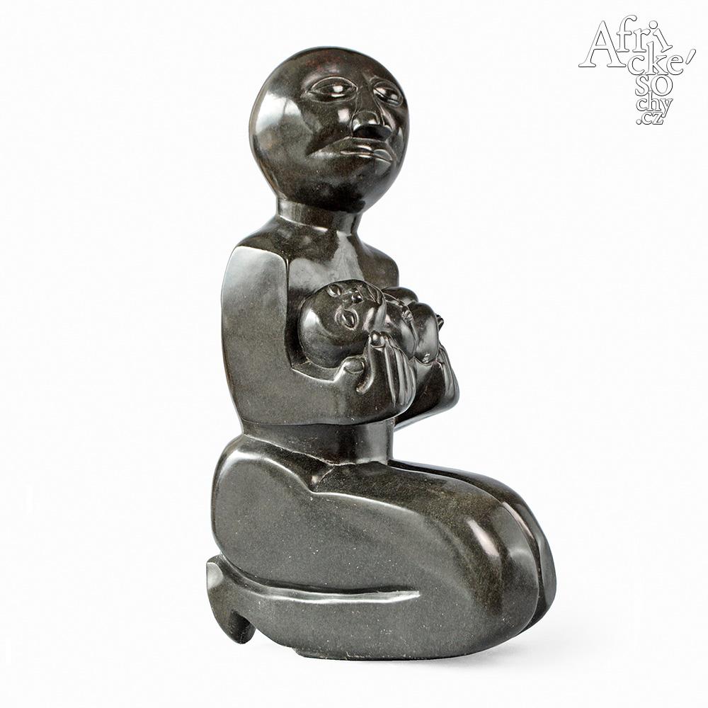 Mabwuto Mangiza: socha Matka s dítětem