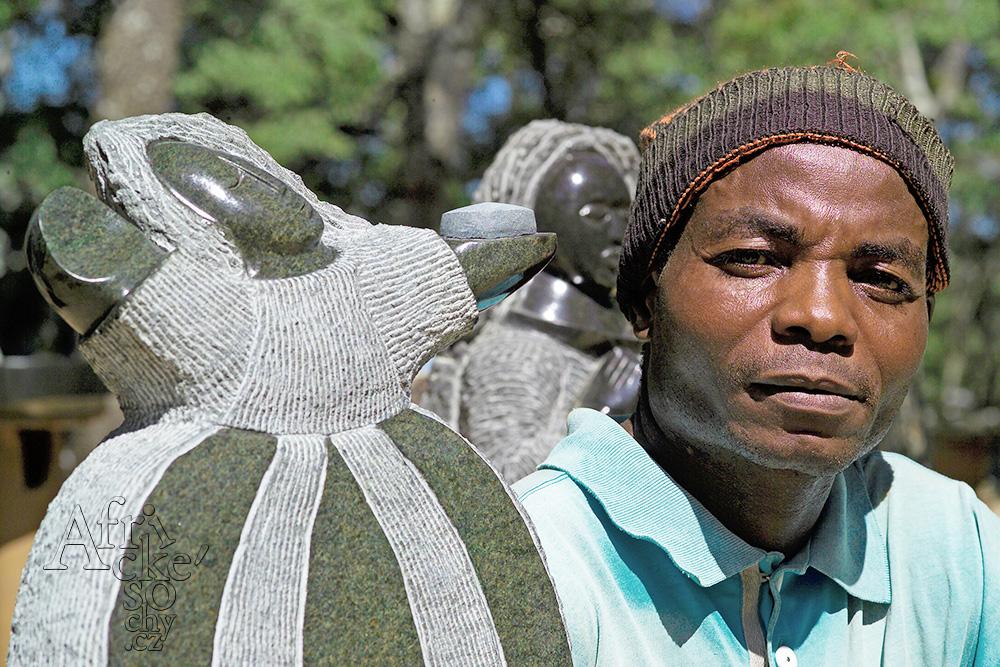 Sochař Mabwuto Mangiza