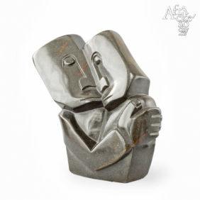 Kamenné sochy na prodej do interiéru, bytu či zahrady - socha milenců