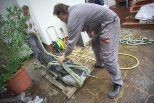 Jak instalovat sochu - uvázat sochu