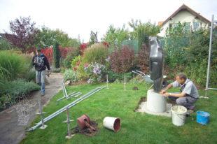 Jak instalovat sochu - začistit a je hotovo!