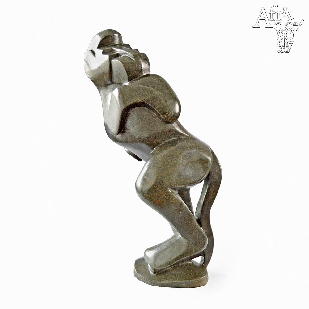 Wilfred Tembo: socha Opice