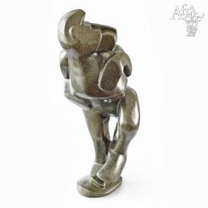 Skulptur von Wilfred Tembo: Affe