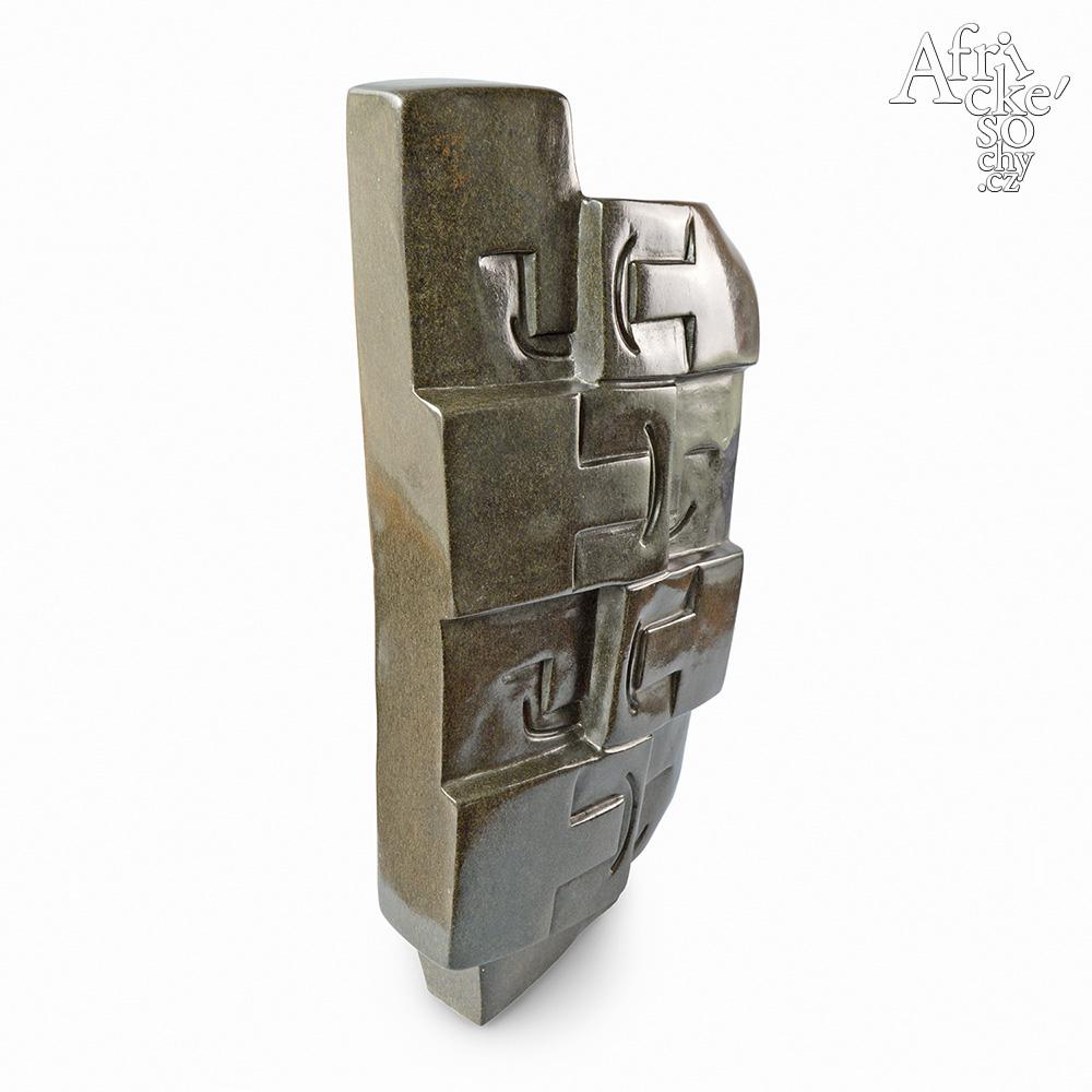 Rearson Chakawa: socha Šťastná rodina