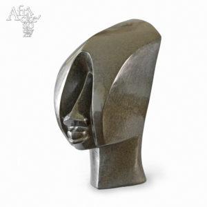 Kamenná socha na prodej do interiéru, bytu či zahrady - kubistická socha