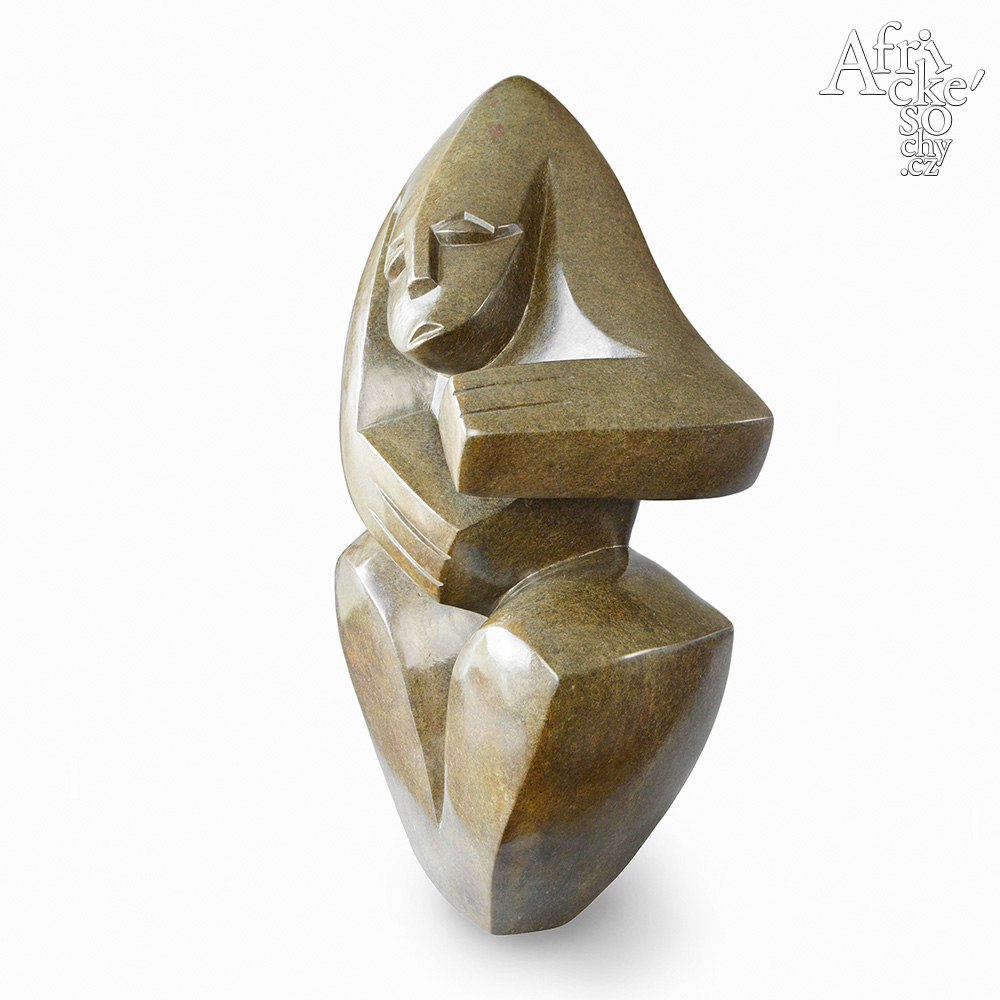 Andamiyo S. Chihota: socha Zasněná