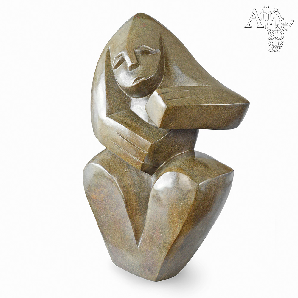 Stone sculptures for sale for any garden, apartment or interior - sculpture of  a girl