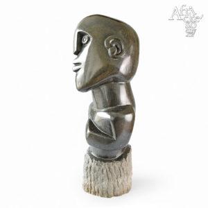 Davison Chakawa: socha Štastný muž