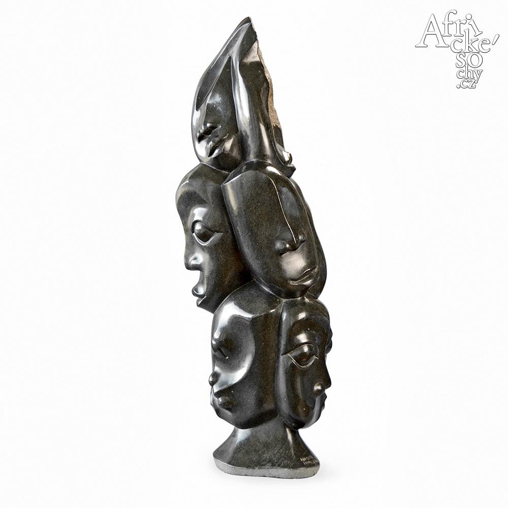 Nimrod Phiri: socha Tváře předků