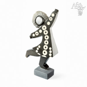 Stone sculptures for sale for any garden, apartment or interior - sculpture of  a dancing girl