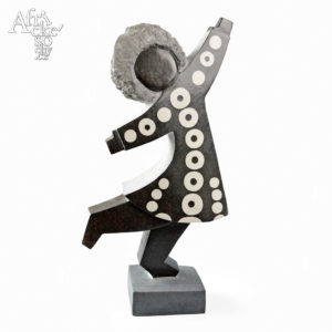 Dominic Benhura: sculpture Dancer
