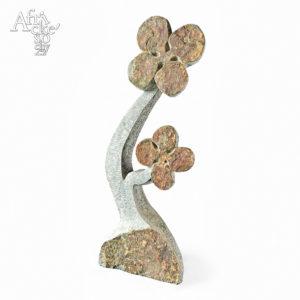 Kamenné sochy na prodej do interiéru, bytu či zahrady - socha květiny