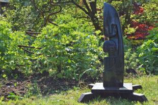 Africké sochy v ZOO Dvůr Králové