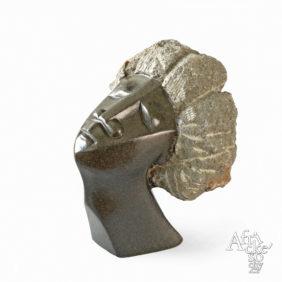 Kamenné sochy na prodej do interiéru, bytu či zahrady - socha hlavy