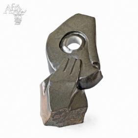 Kamenné sochy na prodej do interiéru, bytu či zahrady - socha lidské hlavy