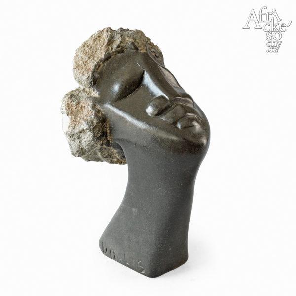 Vitalis Manzi: socha  Hlava