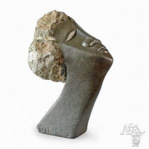 Vitalis Manzi: sculpture Head