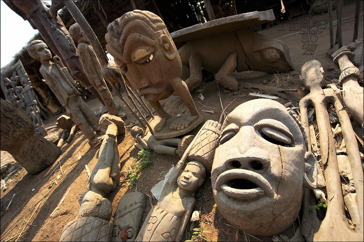 Africké umění – řezbářství a sochařství
