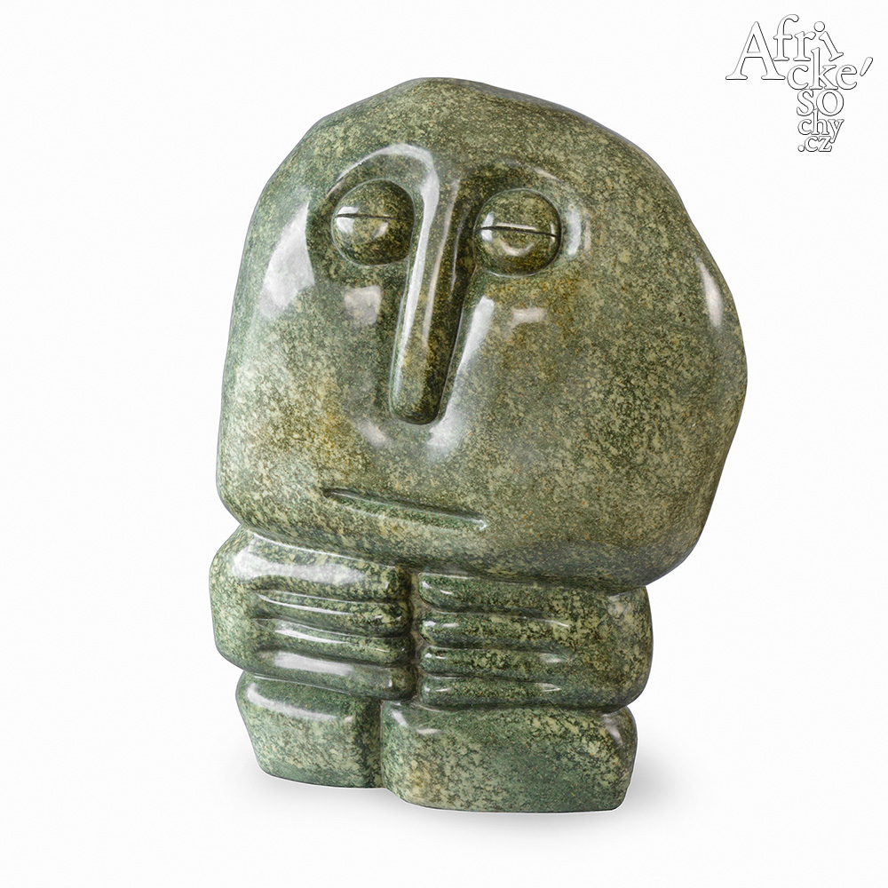 Fanizani Akuda: socha Muž