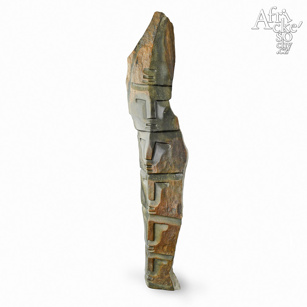 Victor Fire: sculpture Big totem