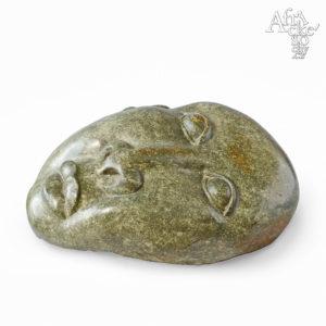 Kamenná socha na prodej do interiéru, bytu či zahrady - socha lidské tváře