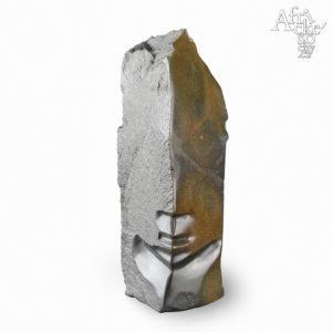 Kamenná socha na prodej do interiéru, bytu či zahrady - socha lidské hlavy