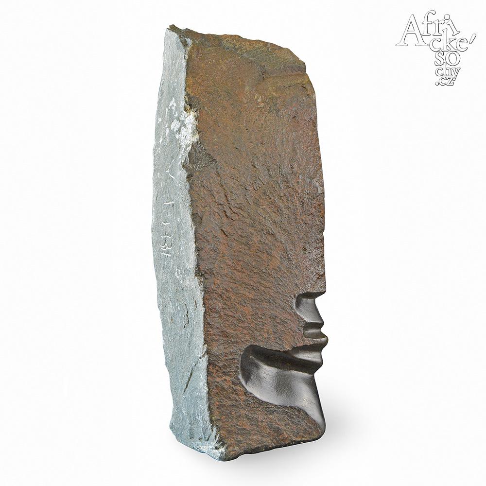 Skulptur von Victor Fire: Kopf
