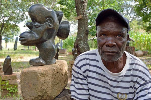 Sculptor  Ali Chitaro