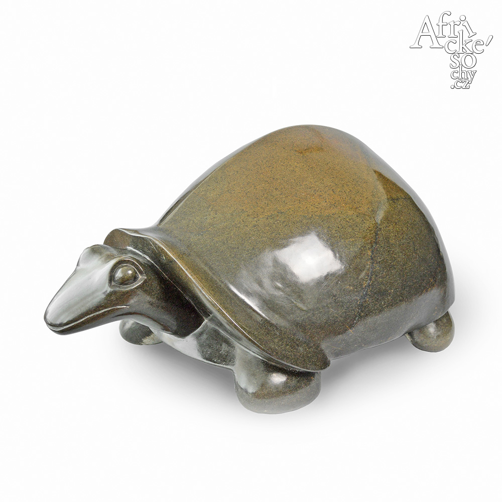 Stone sculptures for sale for any garden, apartment or interior - sculpture of turtle