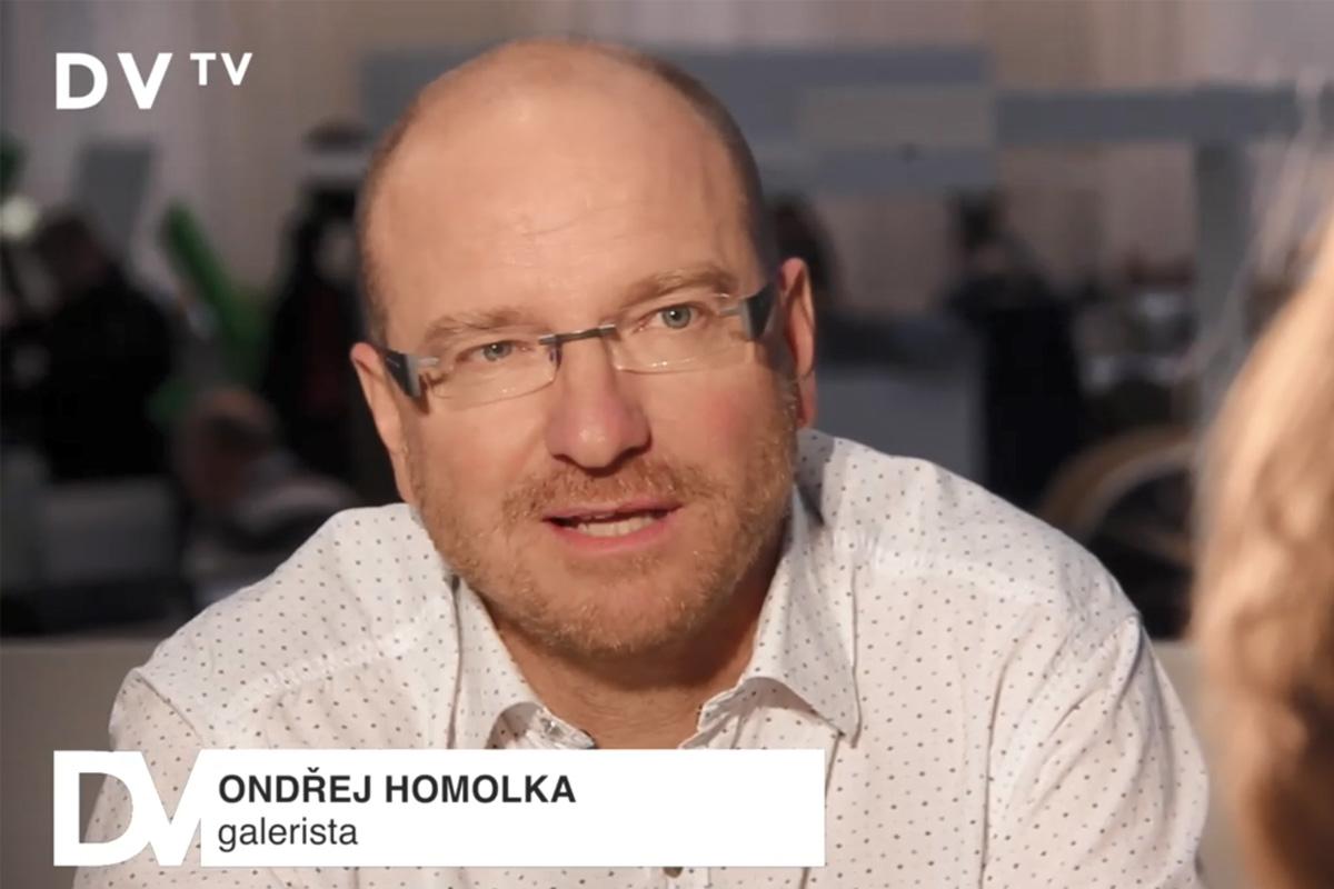 Rozhovor Ondřeje Homolky pro_DVTV