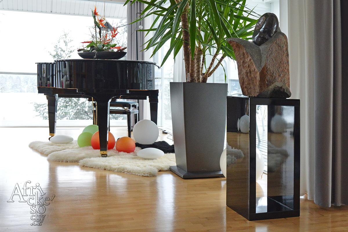 Jak umístit sochu do domu, bytu a interiéru