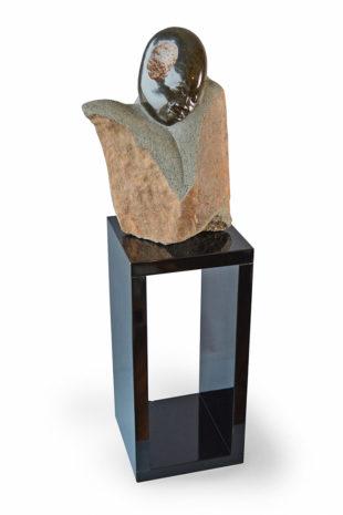 Podstavec pro sochu lakovaný
