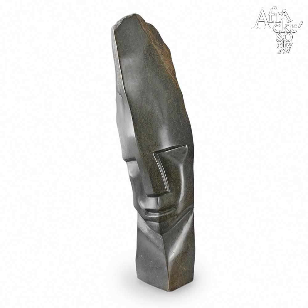 Victor Fire: socha Hlava náčelníka IV