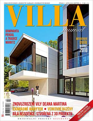 Článek o kamenných sochách ve Villa journal 2/2018