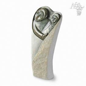 Kamenné sochy na prodej do interiéru, bytu či zahrady - socha Madony s Ježíškem