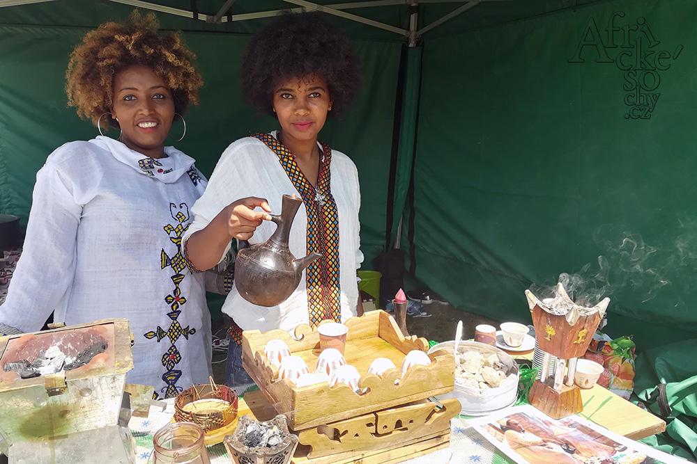 African Food Festival v Botanické zahradě