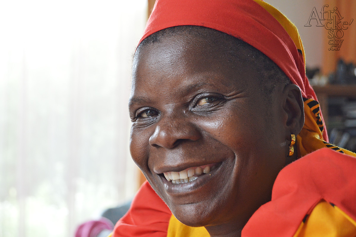 Africké odpoledne s Maudy Muhoni v Art-n-Coffee