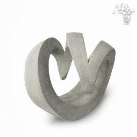 Kamenné sochy na prodej do zahrady, bytu, interiéru - abstraktní socha