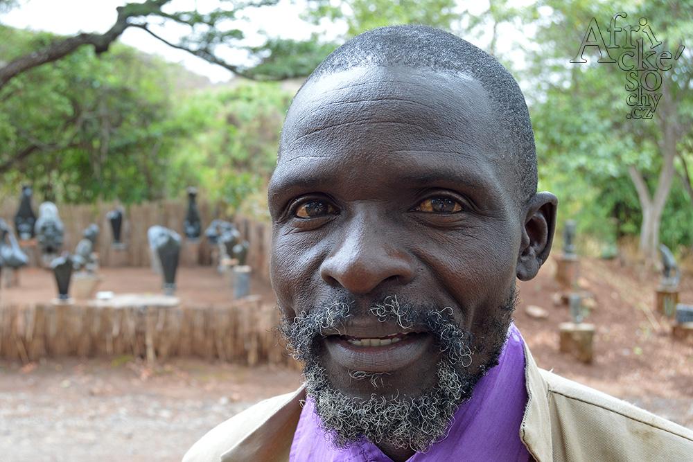 Sochař Juja Tembo